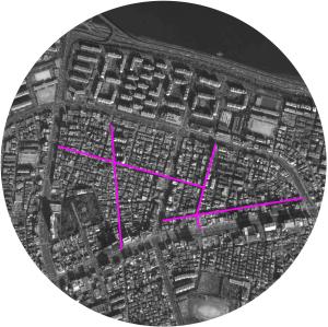 Mappa aerea selezionata